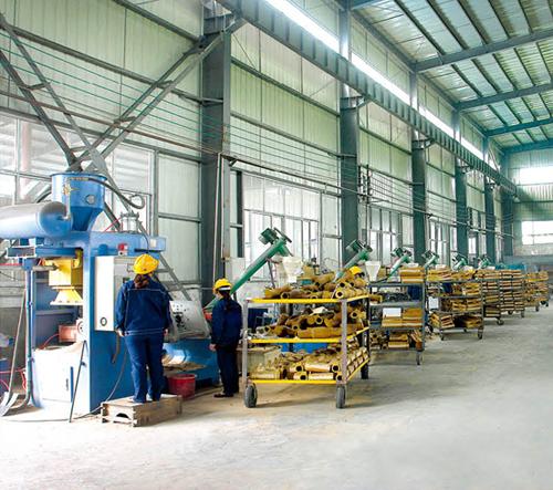 壳芯机制芯生产线